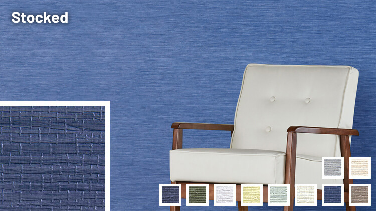 Dakota Grasscloth Commercial Wallcovering sample - links to information page.