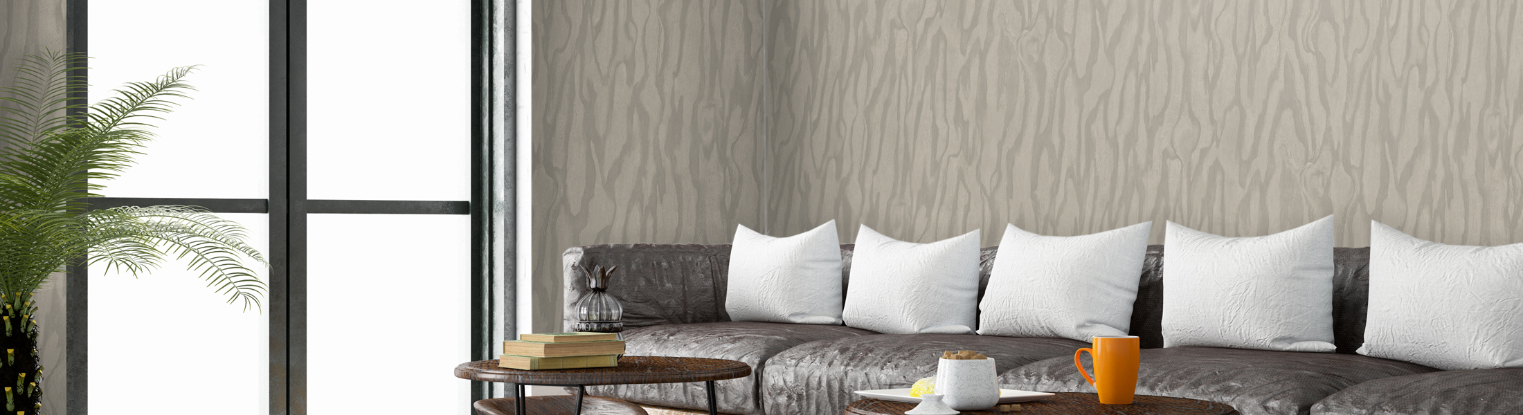 Commercial Wallcovering Example